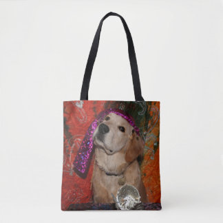 Tote Bag Diseur de bonne aventure de golden retriever