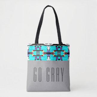 Tote Bag Disparaissent le gris