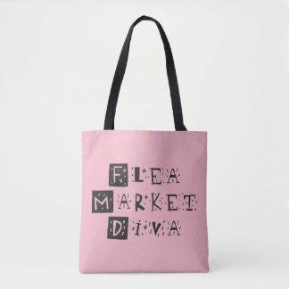 Tote Bag Diva de marché aux puces