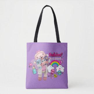 Tote Bag Doc. McStuffins | Lambie - meilleur ami de bébés