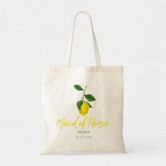 Tote Bag Domestique de l'été | de citron d'honneur