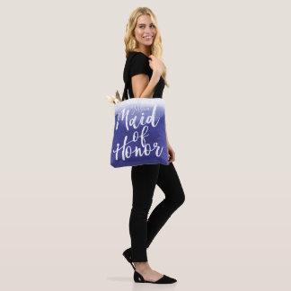 Tote Bag Domestique d'Ombre de lavage d'aquarelle d'honneur
