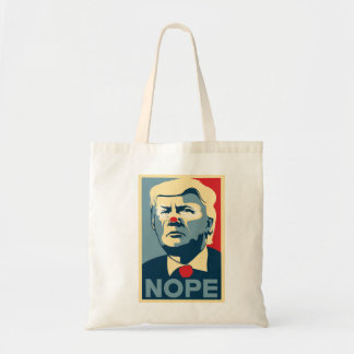 "Tote Bag Donald Trump ""NOPE"" fourre-tout"