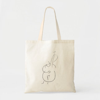 Tote Bag Double basse de jazz