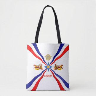 Tote Bag Drapeau assyrien Fourre-tout
