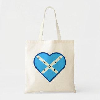 Tote Bag Drapeau croisé de Saltire de bleu et de blanc de