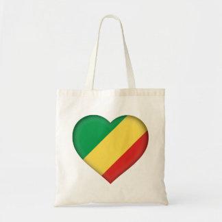 Tote Bag Drapeau de Congo-Brazzaville