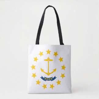 Tote Bag Drapeau d'Île de Rhode