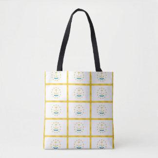 Tote Bag Drapeau d'ÎLE DE RHODE -