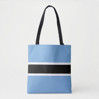 Tote Bag Drapeau du Botswana