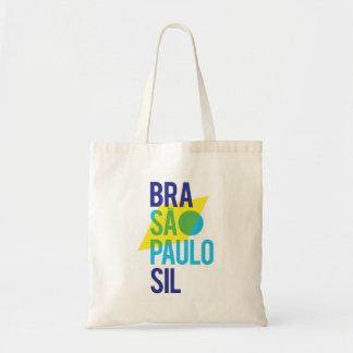 Tote Bag Drapeau du Brésil São Paulo