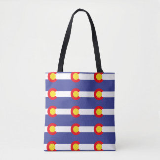Tote Bag Drapeau du COLORADO -
