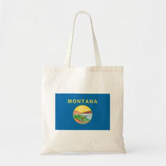 Tote Bag Drapeau du MONTANA -