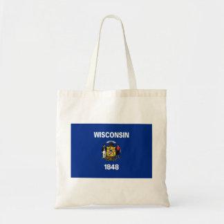 Tote Bag Drapeau du Wisconsin