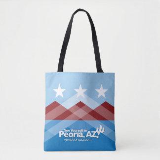 Tote Bag Drapeau Fourre-tout de Peoria