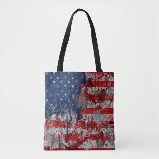 Tote Bag Drapeau frais Fourre-tout des Etats-Unis
