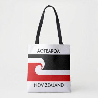 Tote Bag drapeau maori de la Nouvelle Zélande d'aotearoa