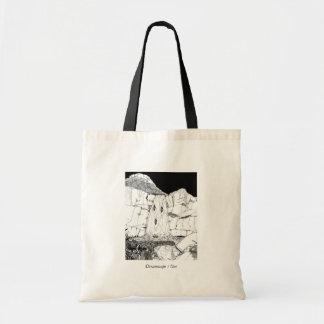 """Tote Bag """"Dreamscape un"""" Fourre-tout, ver. III"""