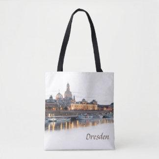 Tote Bag Dresde la nuit