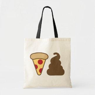 Tote Bag Dunette de pizza
