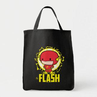 Tote Bag Éclair de Chibi avec l'électricité