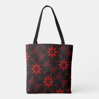 Tote Bag Éclat floral rouge