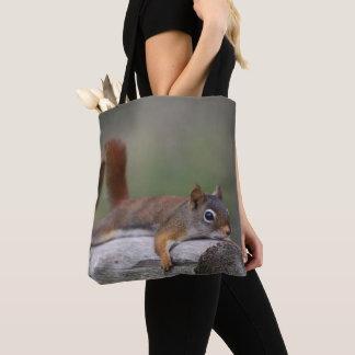 Tote Bag Écureuil drôle