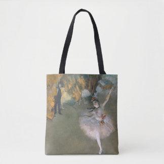 Tote Bag Edgar Degas | l'étoile, ou danseur sur l'étape
