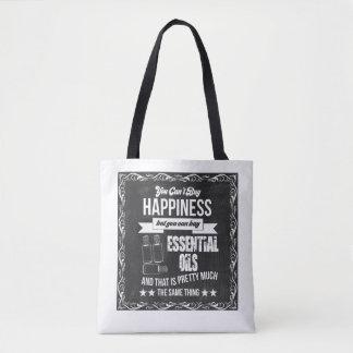 Tote Bag Égaux de achat d'huiles essentielles bonheur