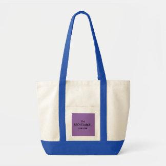 Tote Bag Emballage spacieux, élégant, reuseable