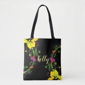 Tote Bag Emballage tropical de ketmie