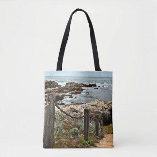 Tote Bag Emballages croisés de corps d'étapes côtières