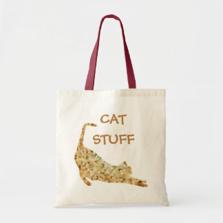 Tote Bag Emballages de CrystalKatz de substance de chat