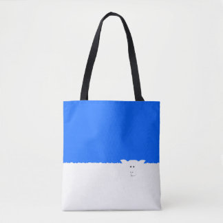 Tote Bag Emballages. moutons