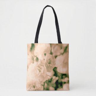 Tote Bag Emballages Romance et de ruches d'oeillets de