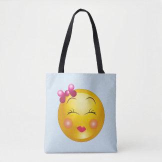 Tote Bag Emoji d'angle
