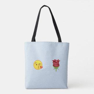 Tote Bag Emoji rose