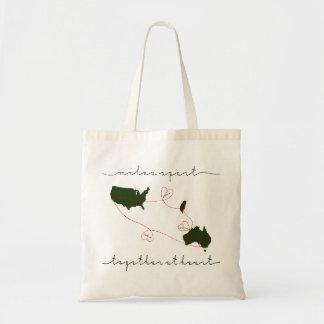 Tote Bag ensemble au coeur