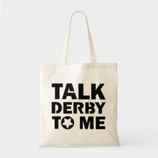 Tote Bag Entretien Derby à moi, conception de fille de