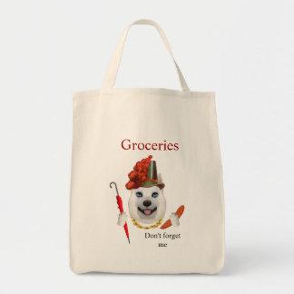 Tote Bag Épicerie Fourre-tout d'Américain-Esquimau