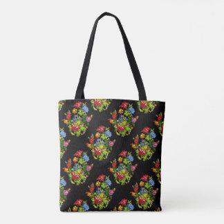 Tote Bag Épicerie Fourre-tout d'art populaire de Paulina