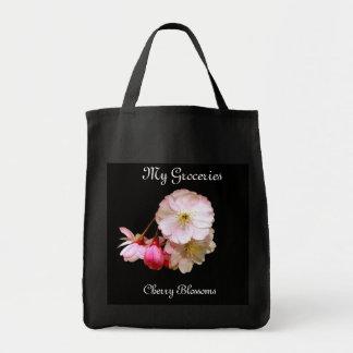 Tote Bag Épicerie Fourre-tout de fleurs de cerisier