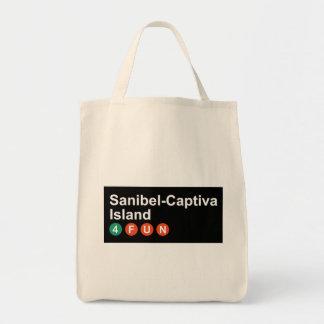 Tote Bag Épicerie Fourre-tout de Sanibel-Captif