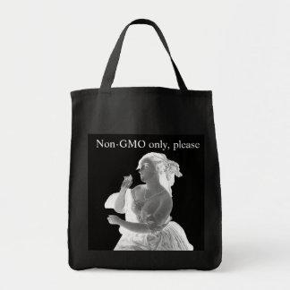Tote Bag Épicerie Fourre-tout de thème de Non-GMO