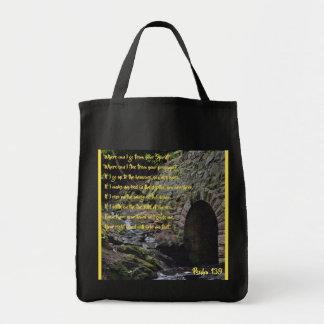 Tote Bag Épicerie Fourre-tout du psaume 139