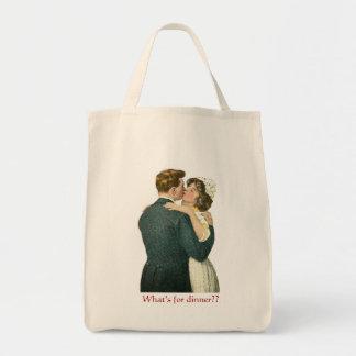 Tote Bag Épicerie romantique humoristique Fourre-tout