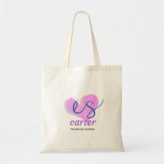 Tote Bag Es Carter a mon nombre ! - Fourre-tout
