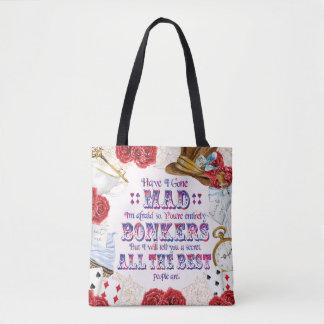 Tote Bag Est-ce qu'Alice au pays des merveilles - je suis