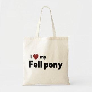 Tote Bag Est tombé le poney