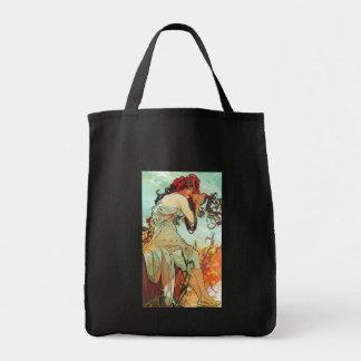 Tote Bag Été, les saisons, Mucha